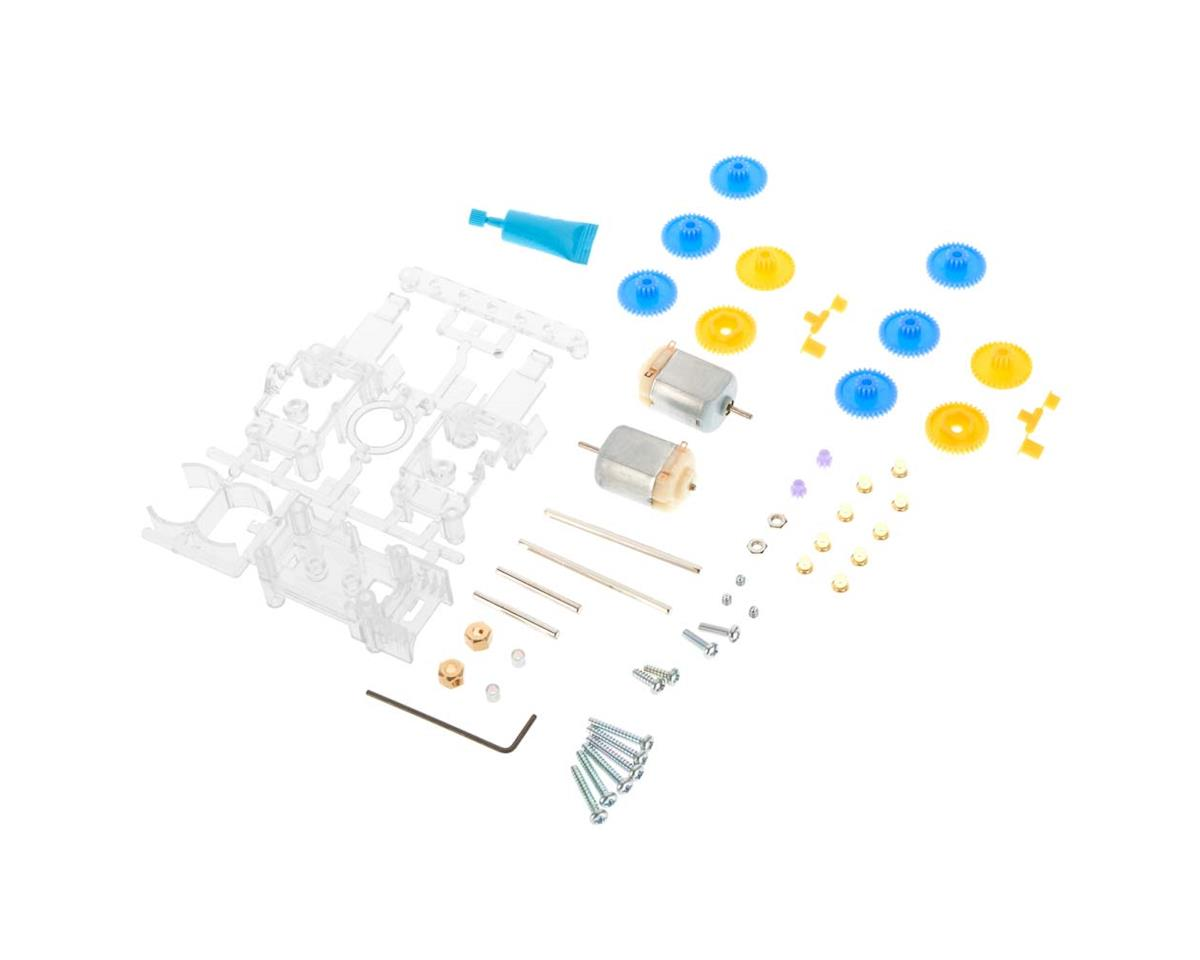 Tamiya 69912 Double Gearbox 4-Speed Clear L/R Independent