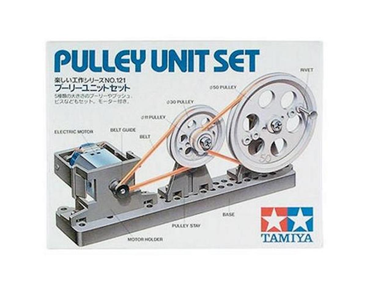 Pulley Unit Set Educational Series by Tamiya