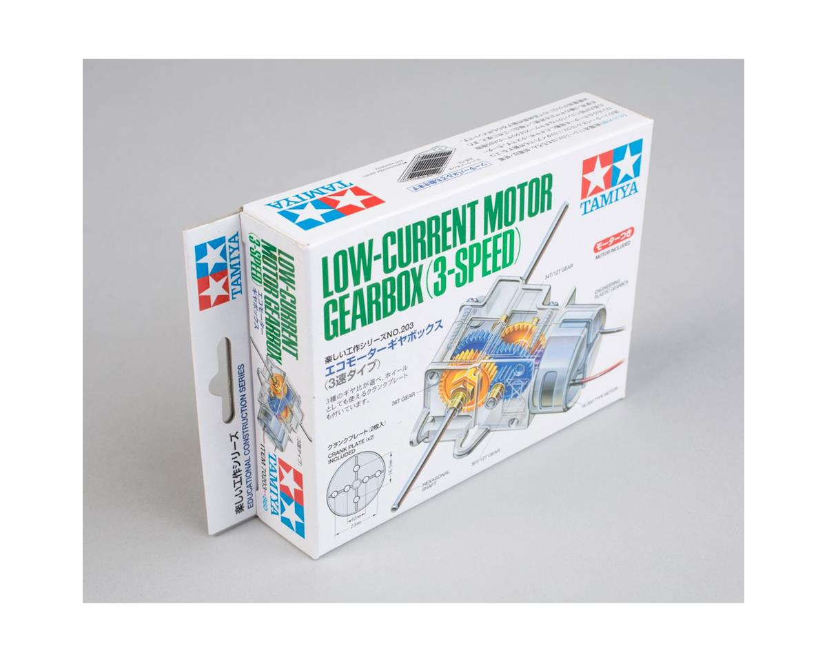 Tamiya NYA Low Current Motor Gearbox 3 Speed