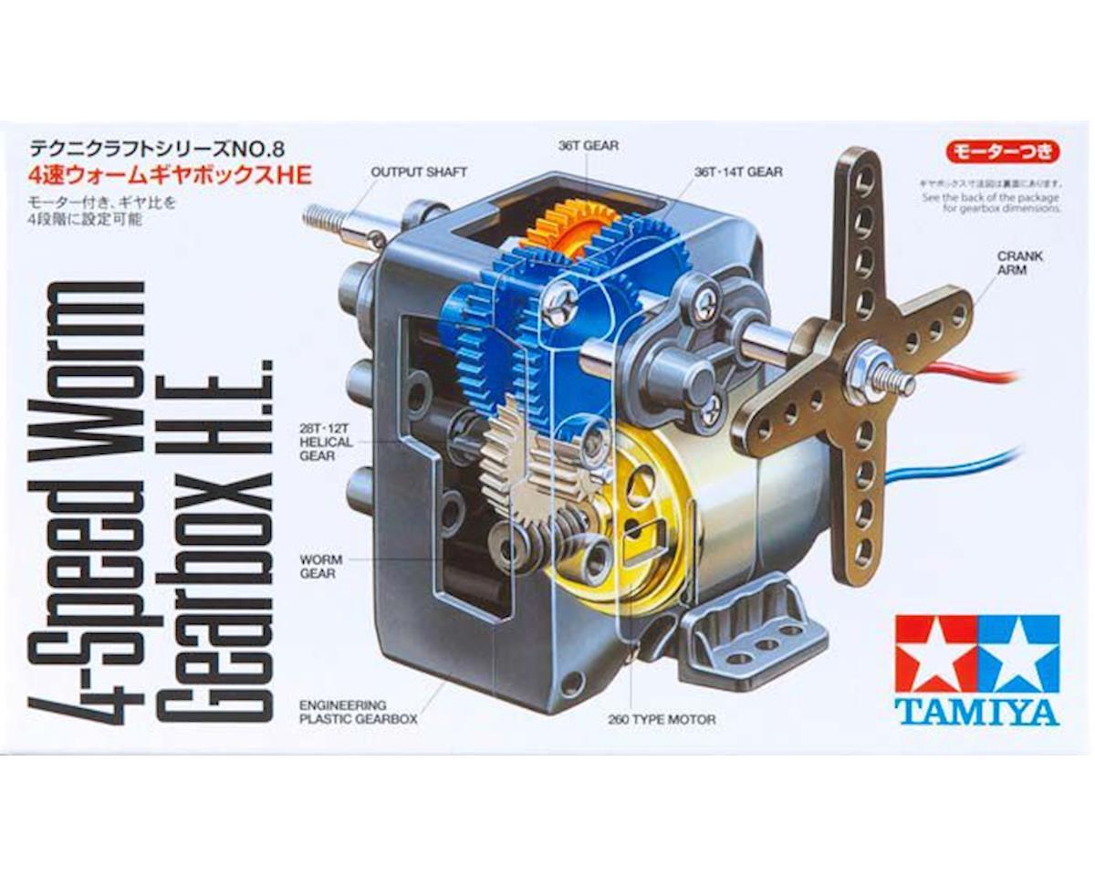 4-Speed Worm Gearbox H.E. by Tamiya
