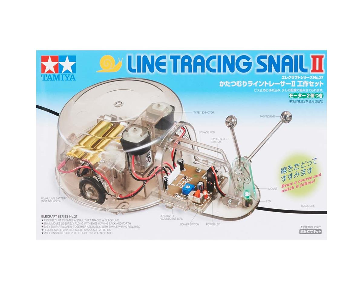 Tamiya 75027 Line Tracing Snail Ii Tam75027 Toys Hobbies Electrical Wiring Tracer
