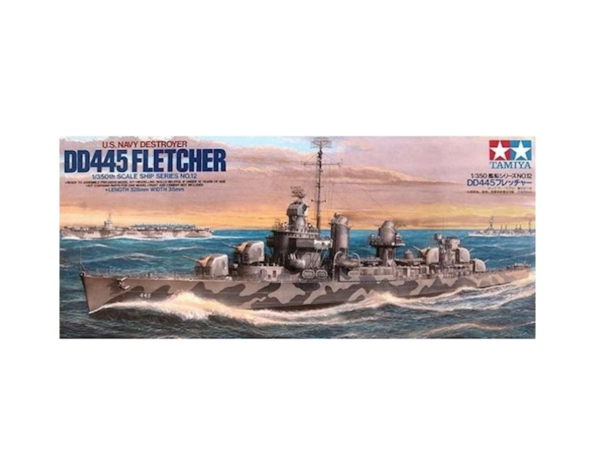 1/350 US Navy DD445 Fletcher by Tamiya