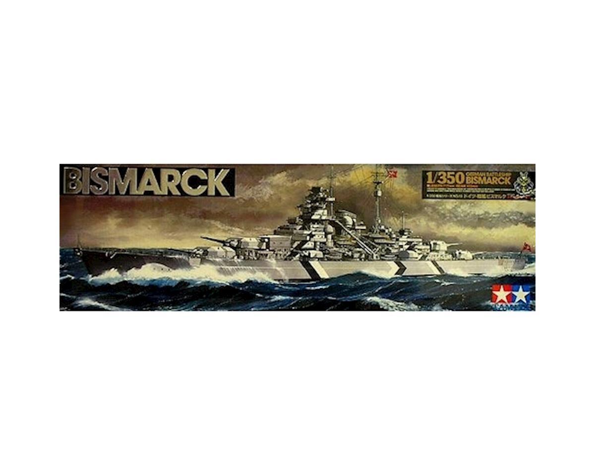 Tamiya 1/350 German Battleship Bismarck
