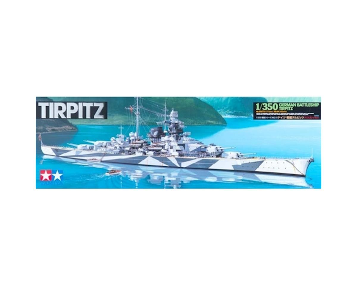 Tamiya 1/350 German Battleship Tirpitz