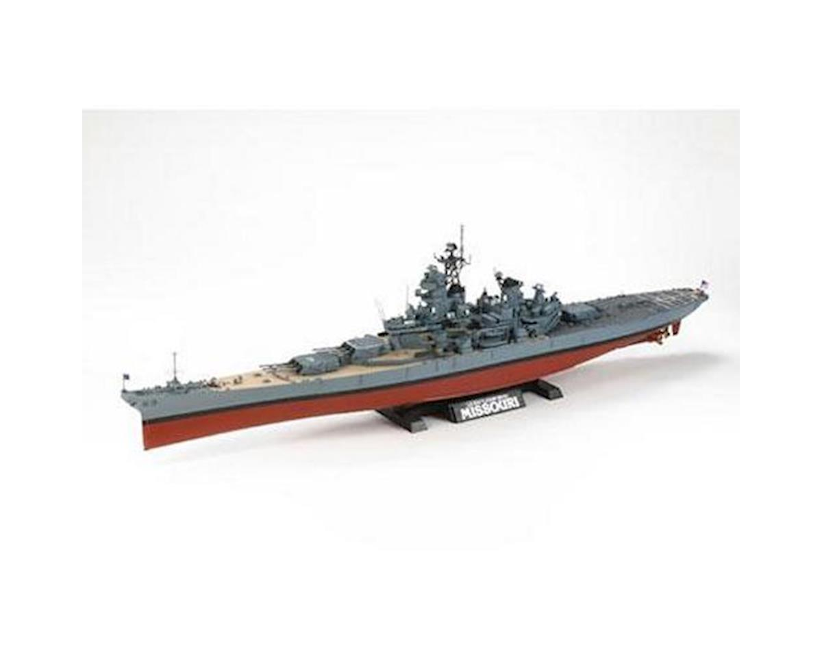 Tamiya 1/350 USS Missouri Battleship