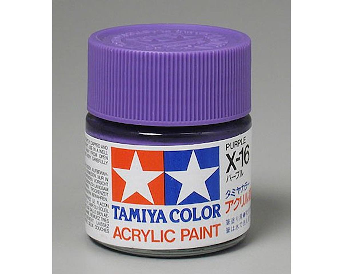 Acrylic X16 Gloss,Purple by Tamiya