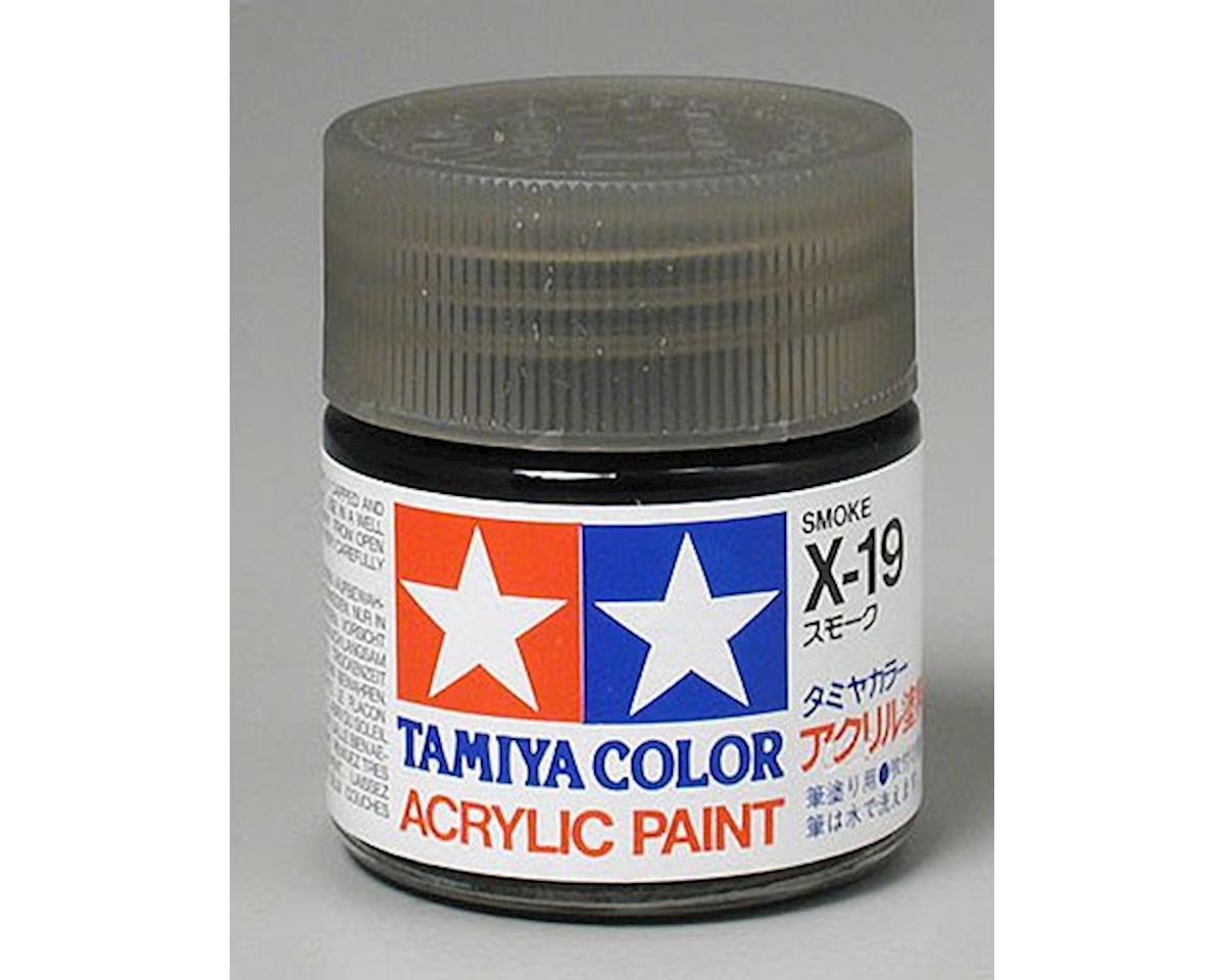 Tamiya Acrylic X19 Gloss,Smoke