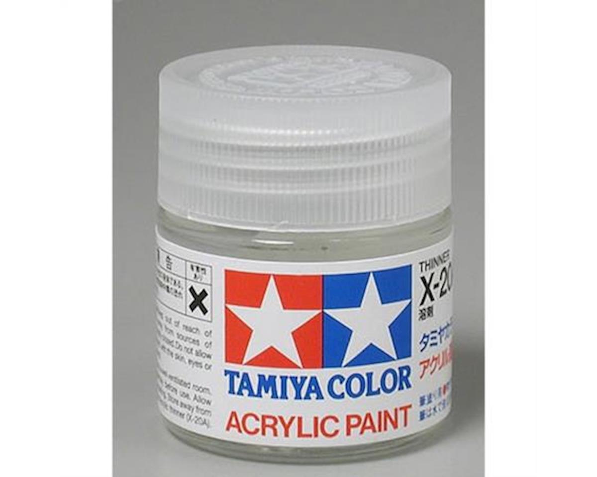 Tamiya Acrylic/Poly Thinner X20A,23Ml