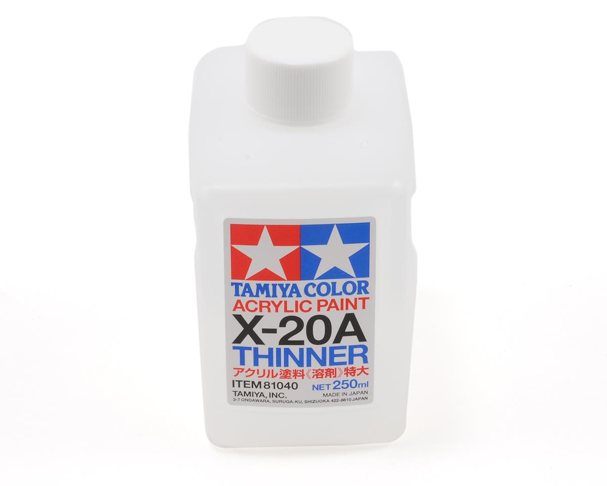Acrylic/Poly Thinner X20A (250ml) by Tamiya