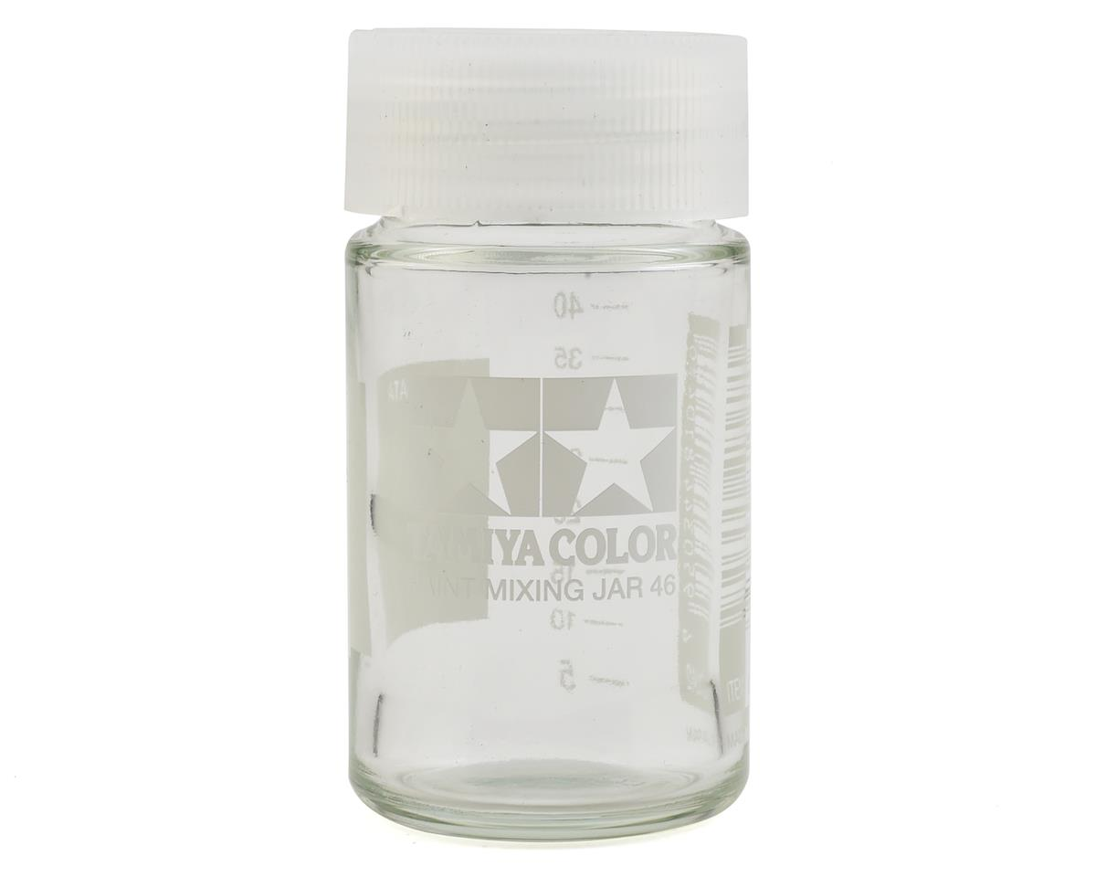 Paint Mixing Jar w/Measure (46ml Bottle) (6/Bx) by Tamiya