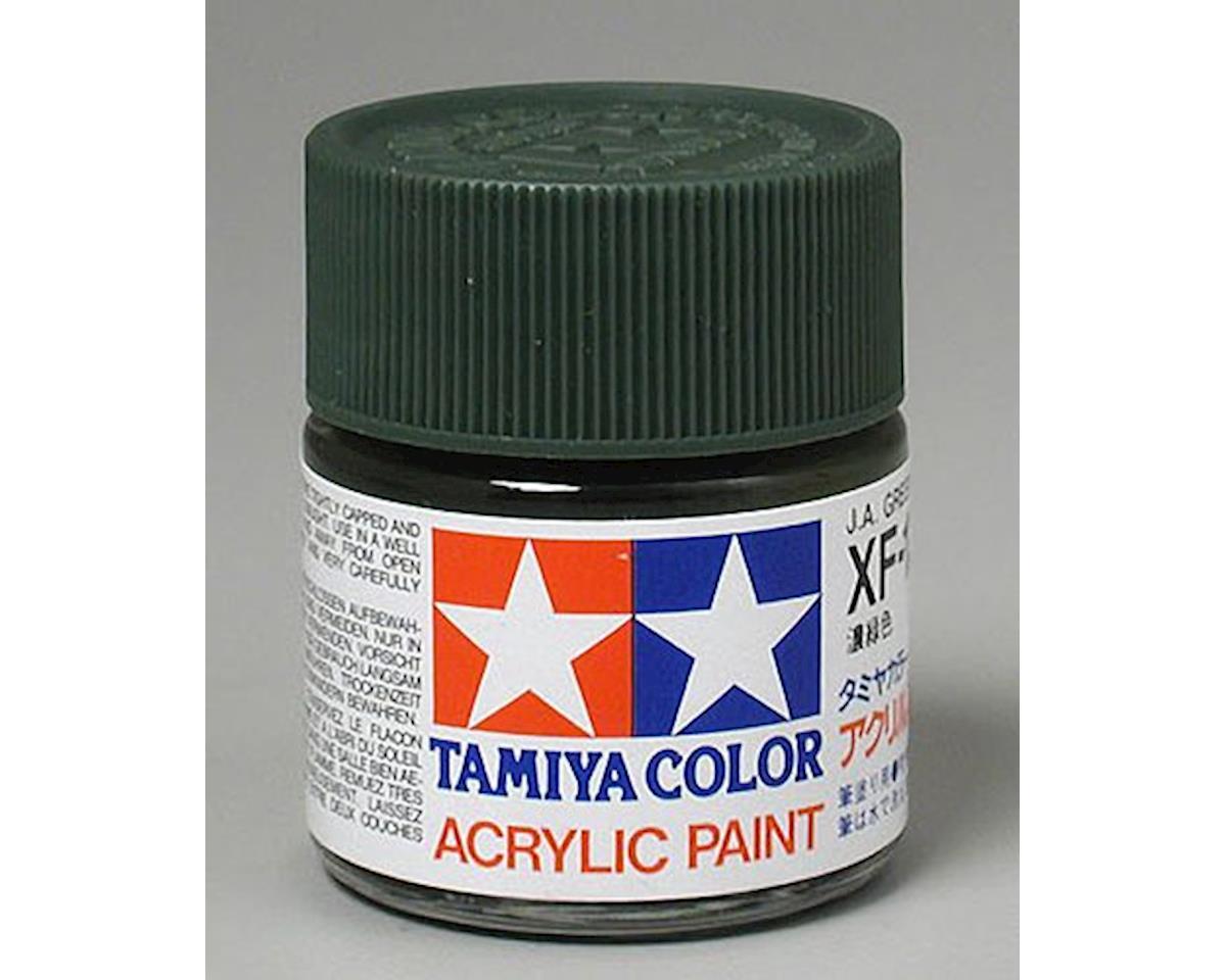 Tamiya Acrylic XF11 Flat Jungle Green Paint (23ml)