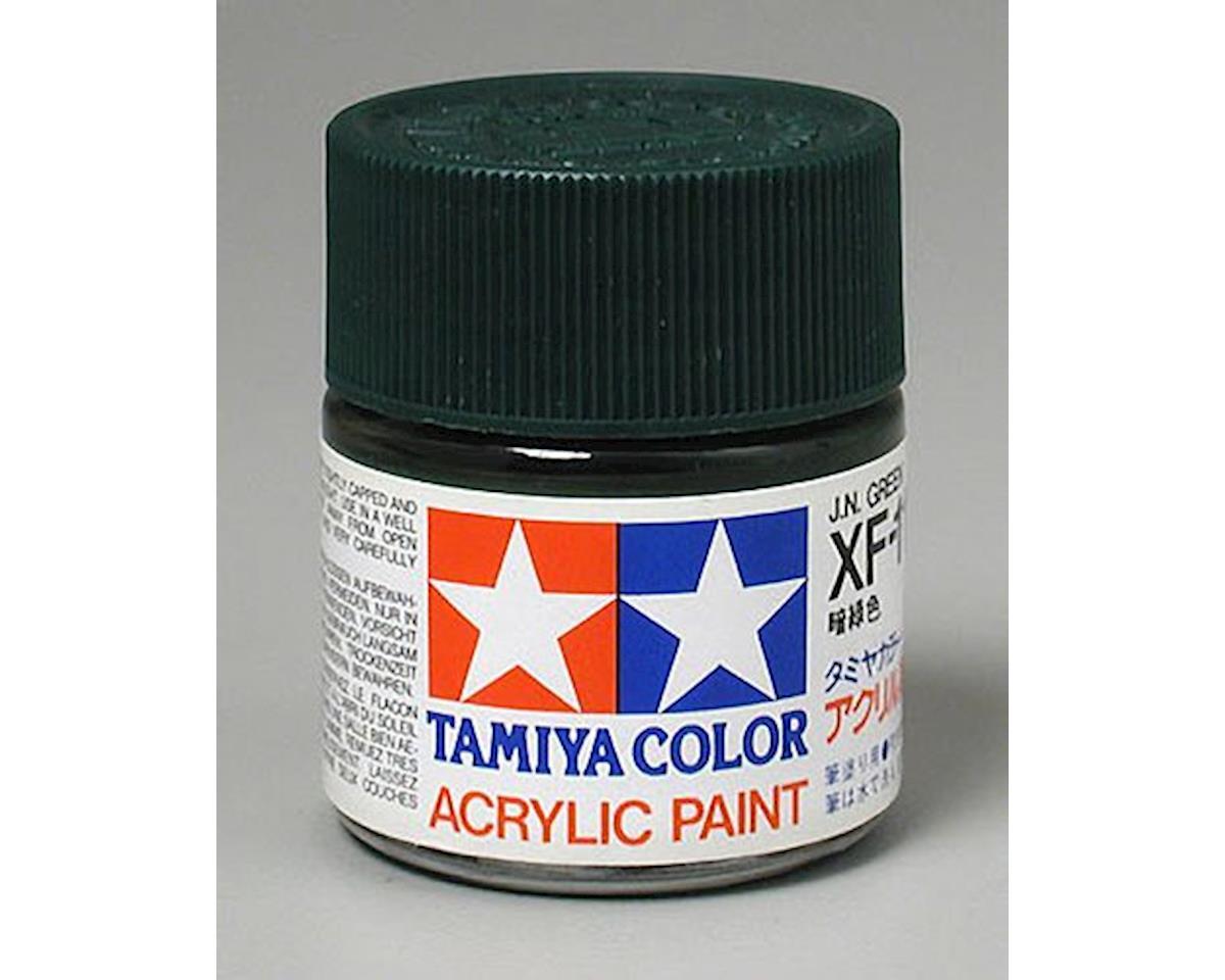 Acrylic XF13 Flat Jade Green Paint (23ml) by Tamiya