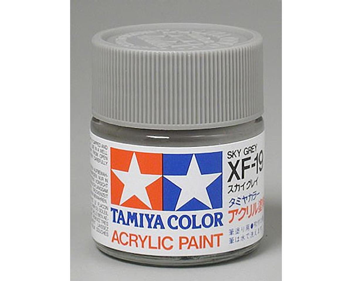 Tamiya Acrylic XF19 Flat Sky Gray Paint (23ml)