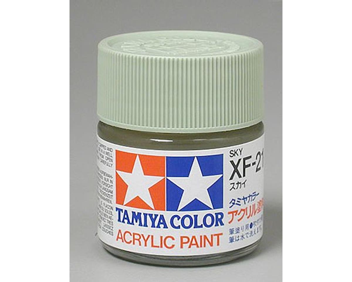 Acrylic XF21 Flat Sky Paint (23ml) by Tamiya