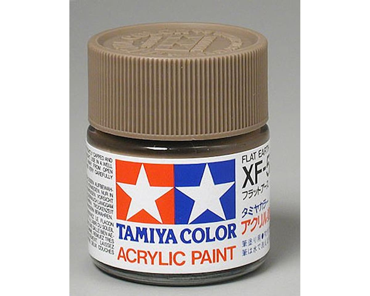 Acrylic XF52 Flat Earth Paint (23ml) by Tamiya