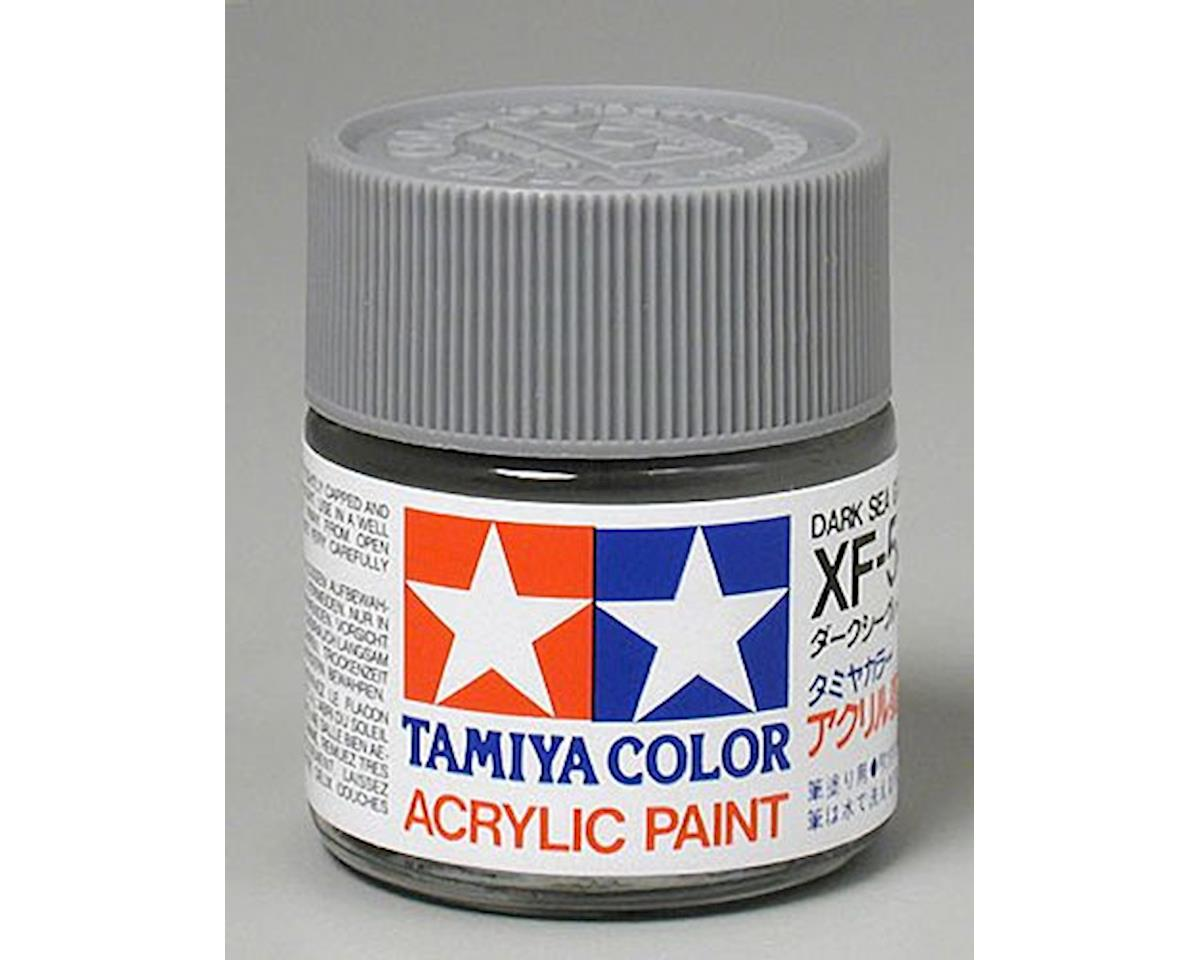 Tamiya Dark Sea Gray Mini Acrylic Matte Finish (6/Bx)
