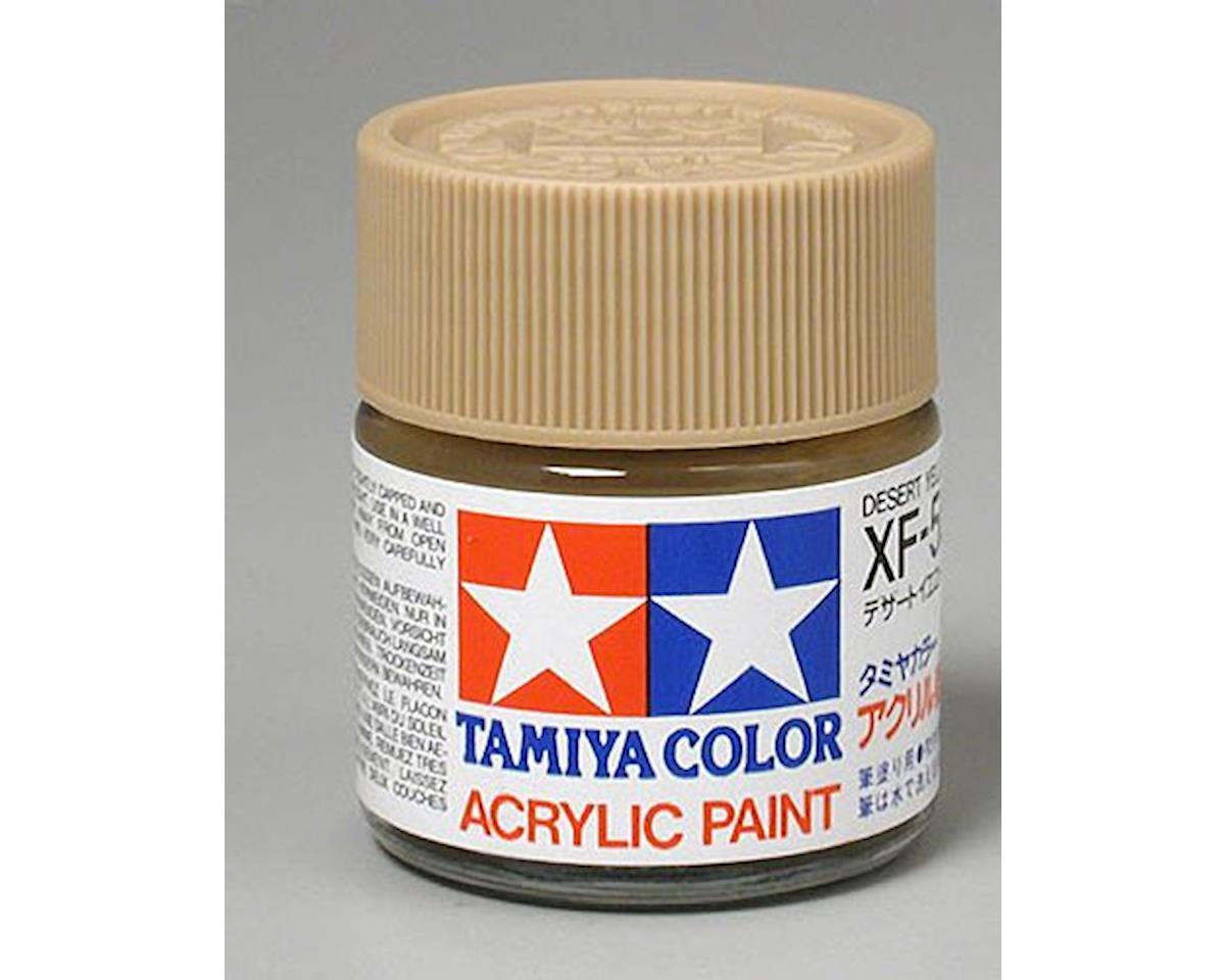 Tamiya Acrylic XF59, Flat Desert Yel