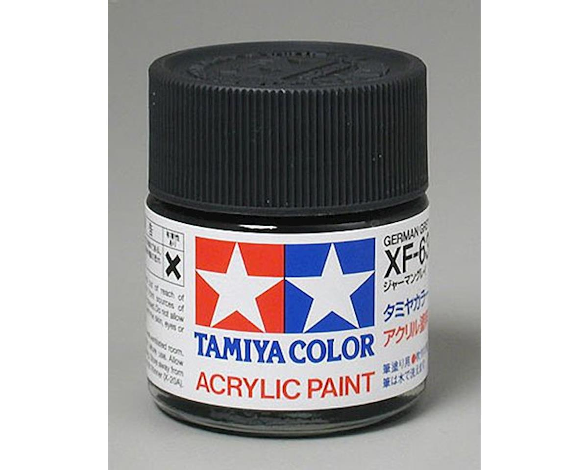 Acrylic XF63 Flat German Grey Paint (23ml) by Tamiya