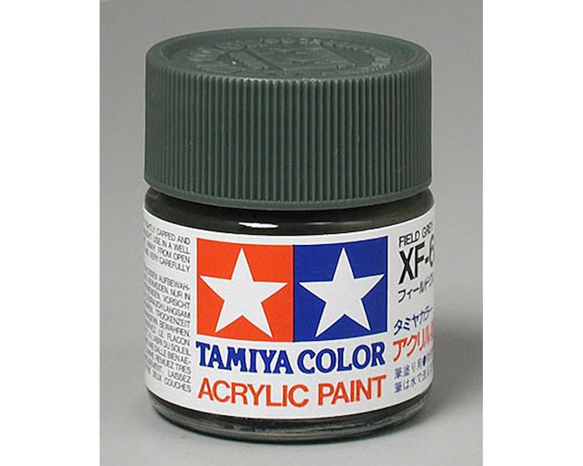 Tamiya Acrylic XF65 Flat Field Gray Paint (23ml)