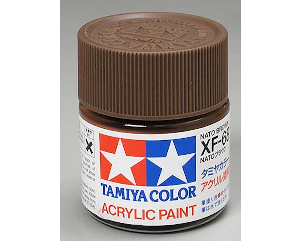 Tamiya Nato Brown Mini Acrylic Matte Finish (6/Bx)