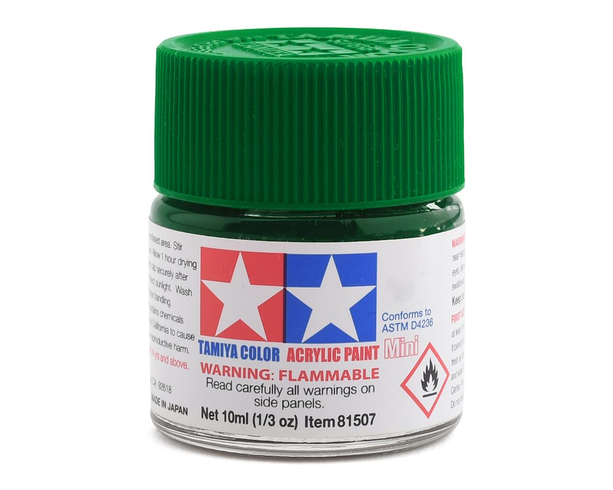 Tamiya X5 Green Acrylic Paint Mini (1/3oz)