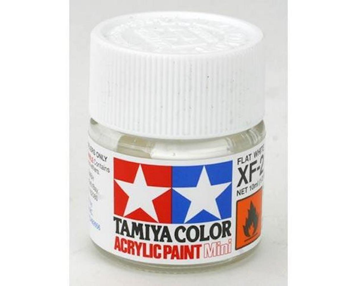 Tamiya Acrylic Mini XF2 Flat White Paint (10ml)
