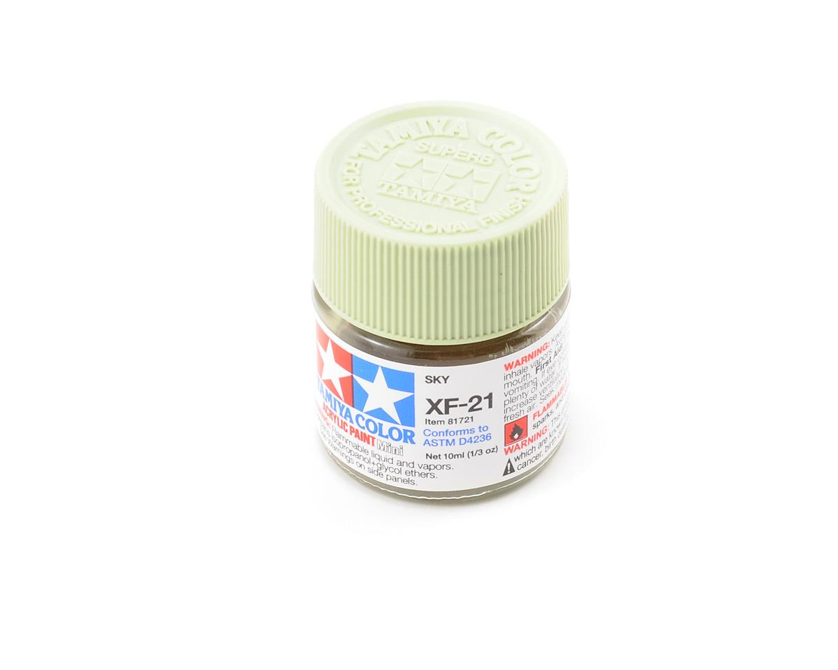 Tamiya Acrylic Mini XF21 Sky Paint (10ml)