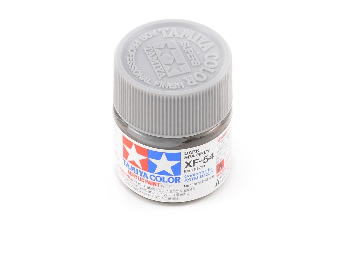 Tamiya Acrylic Mini XF54 Flat Dark Sea Gray Paint (10ml)