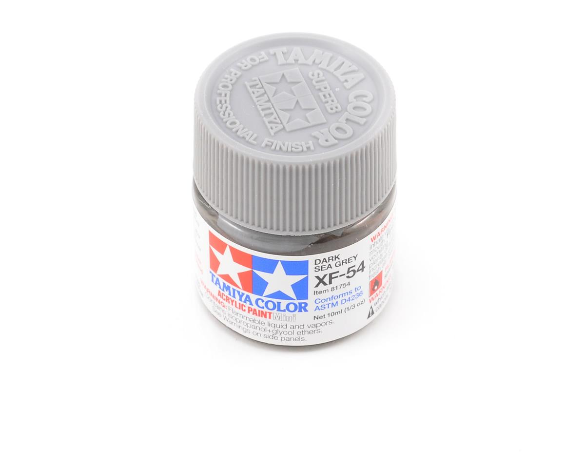 Tamiya Acrylic Mini XF54 Flat Dark Sea Gray Paint (10ml) | relatedproducts