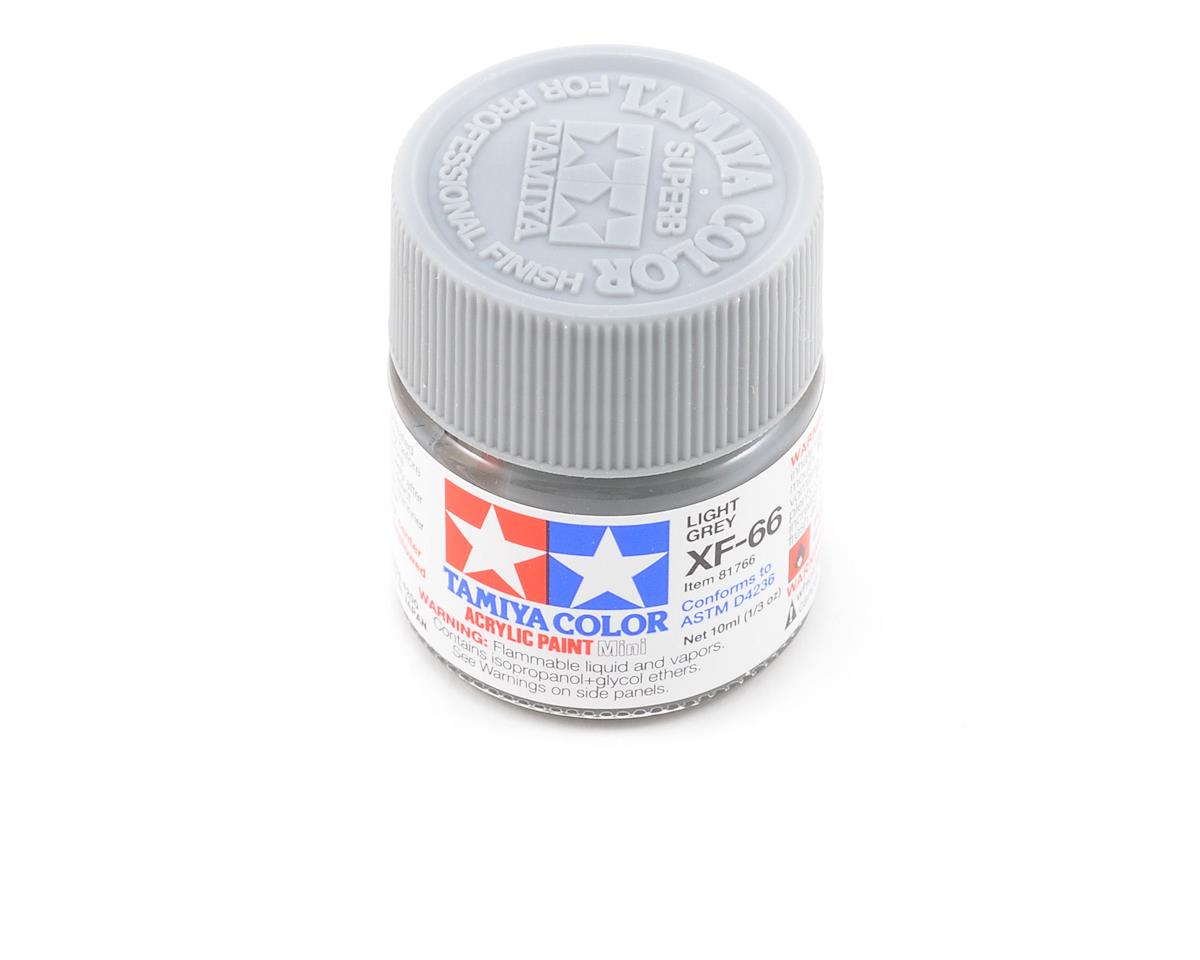 Tamiya Acrylic Mini XF66 Flat Light Gray Paint (10ml) | relatedproducts