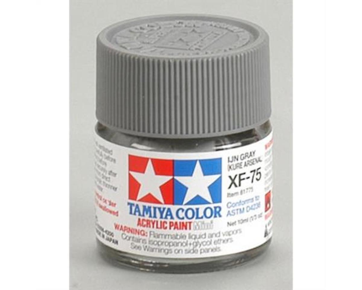 Acrylic Mini XF75 IJN Gray Paint (10ml) by Tamiya