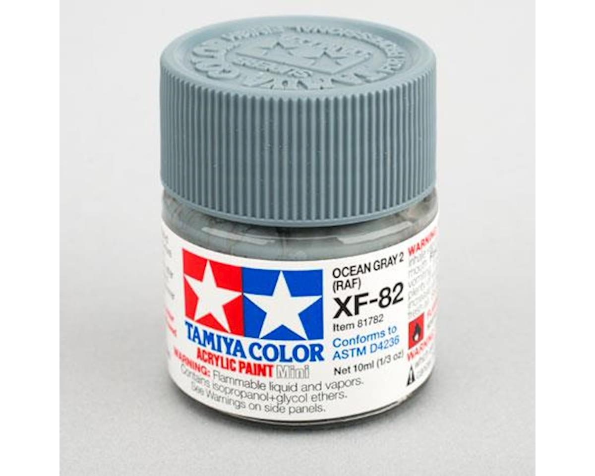 Tamiya Acrylic Mini XF-82 Ocean Gray 2 RAF 10ml Bottle