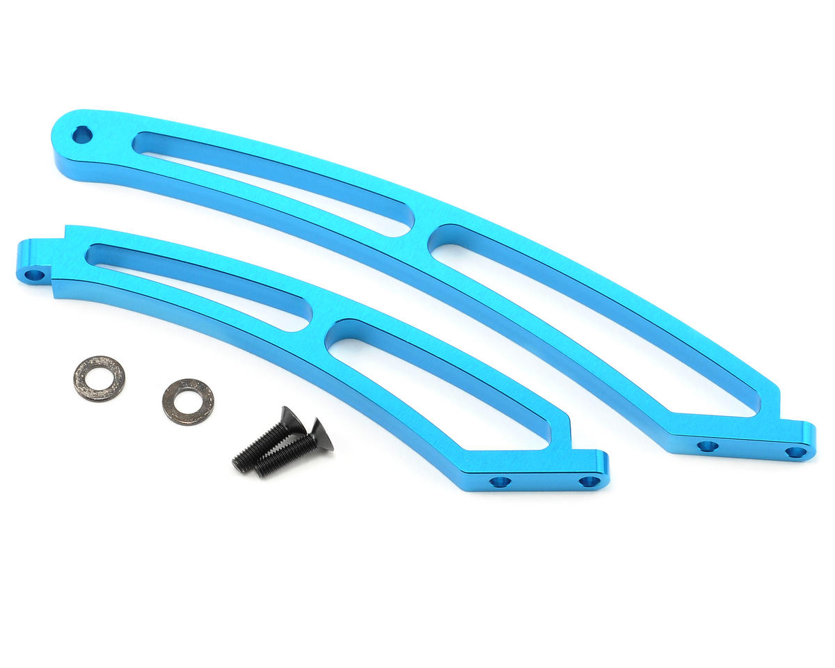 Tamiya Aluminum Front/Rear Chassis Brace Set (TRF801Xt)