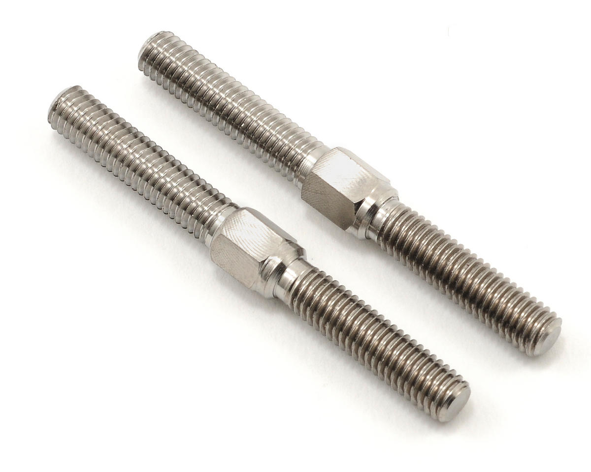 Tamiya 5x50mm Titanium Front/Rear Camber Link Turnbuckle Set (2) (TRF801X)