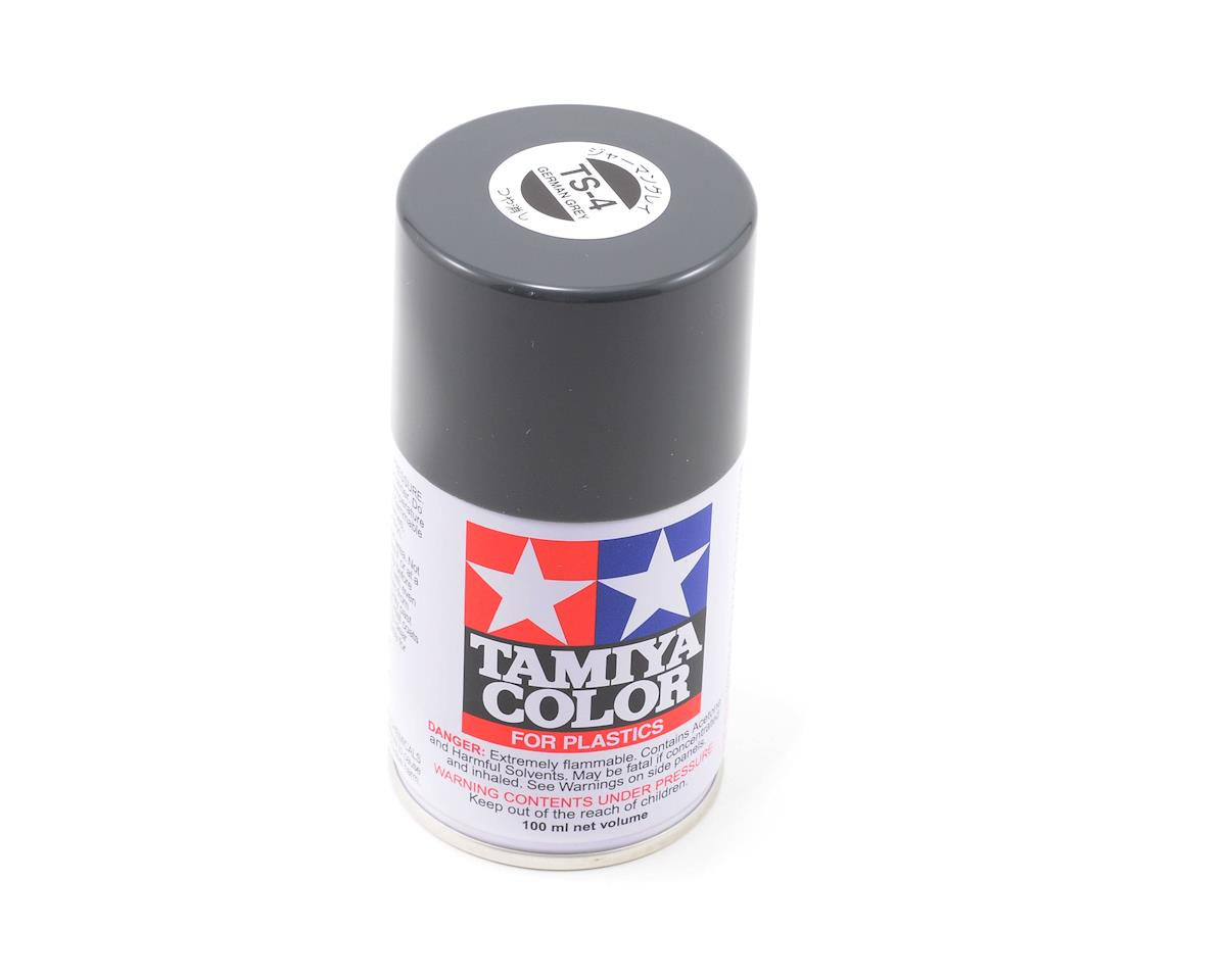 Tamiya TS-4 German Gray Lacquer Spray Paint (3oz)