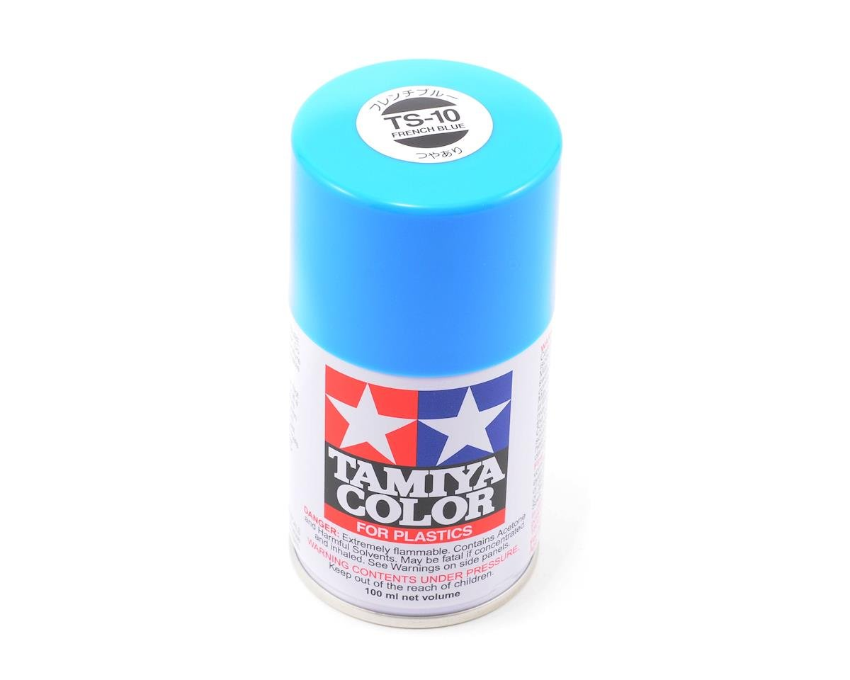 TS-10 French Blue Lacquer Spray Paint (3oz) by Tamiya
