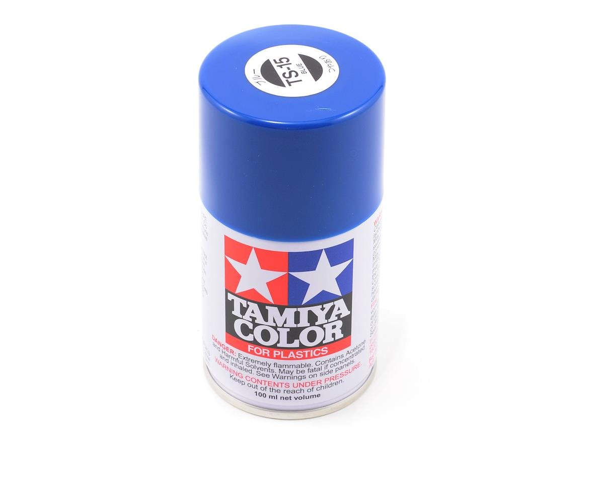 TS-15 Blue Lacquer Spray Paint (3oz) by Tamiya
