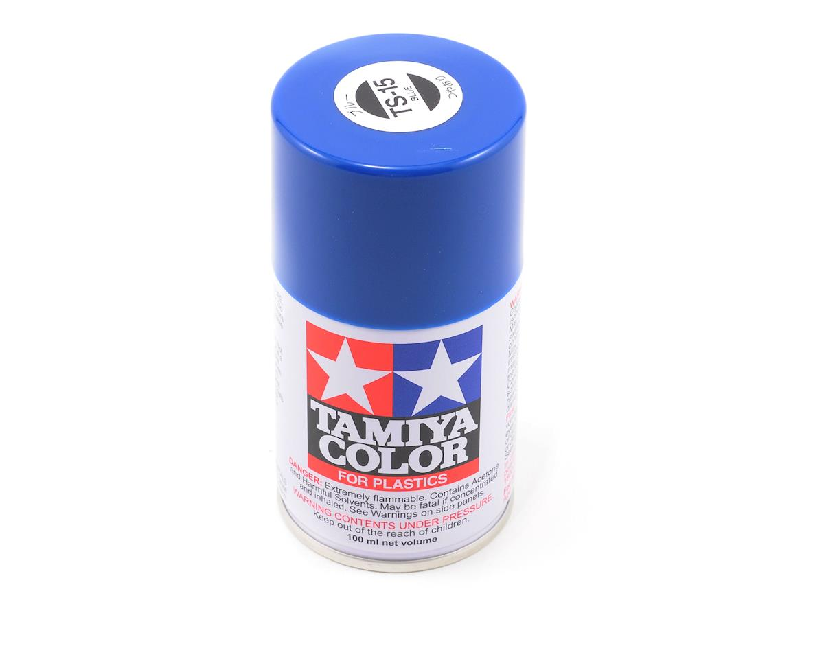 Tamiya TS-15 Blue Lacquer Spray Paint (3oz)