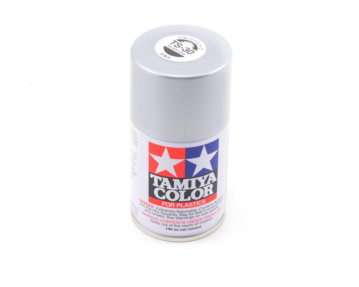 TS-30 Silver Leaf Lacquer Spray Paint (3oz) by Tamiya