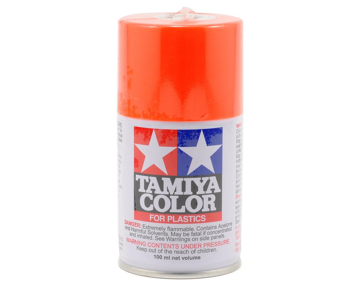 TS-31 Bright Orange Lacquer Spray Paint (3oz) by Tamiya