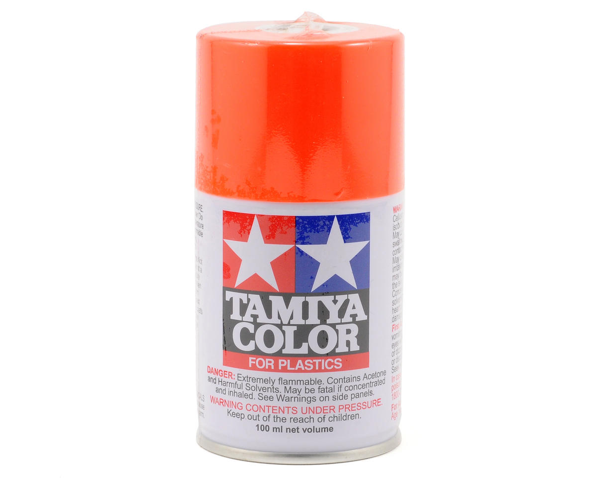 Tamiya TS-31 Bright Orange Lacquer Spray Paint (100ml)