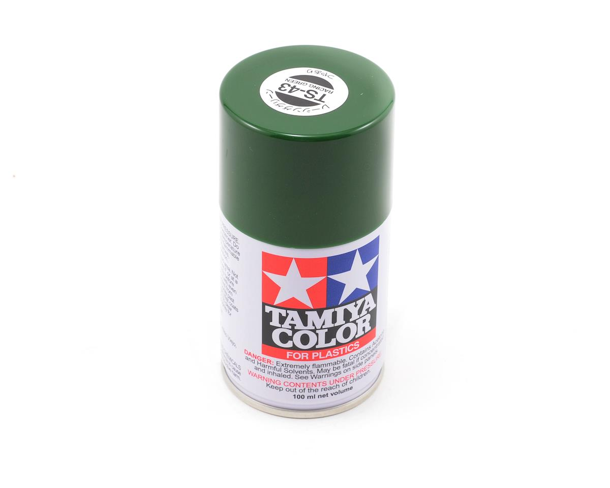 TS-43 Racing Green Lacquer Spray Paint (3oz) by Tamiya