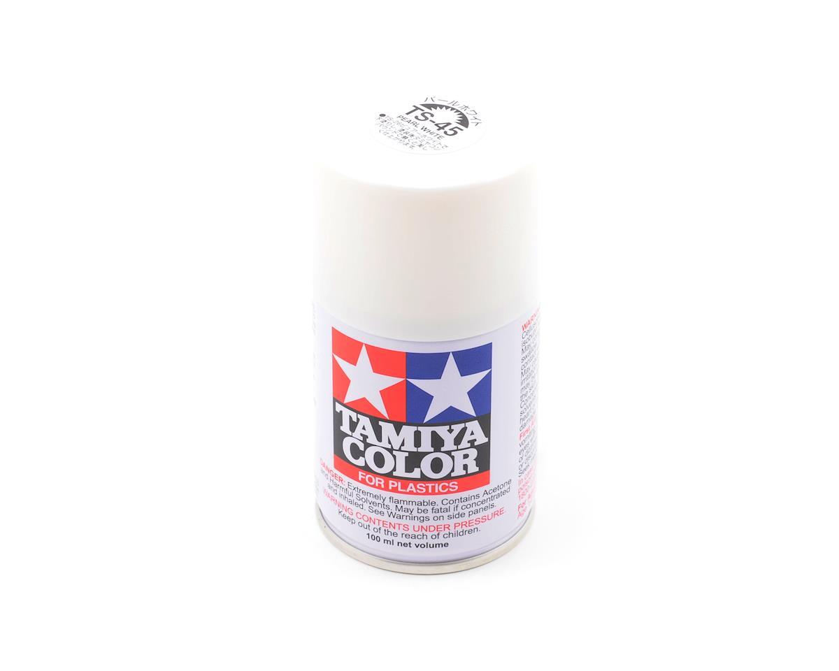 Tamiya TS-45 Pearl White Lacquer Spray Paint (100ml) [TAM85045] | Cars &  Trucks