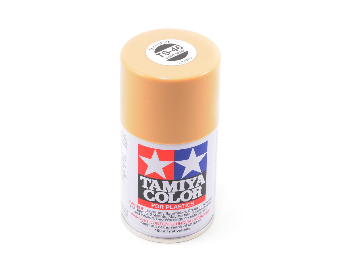 Tamiya TS-46 Light Sand Lacquer Spray Paint (3oz)