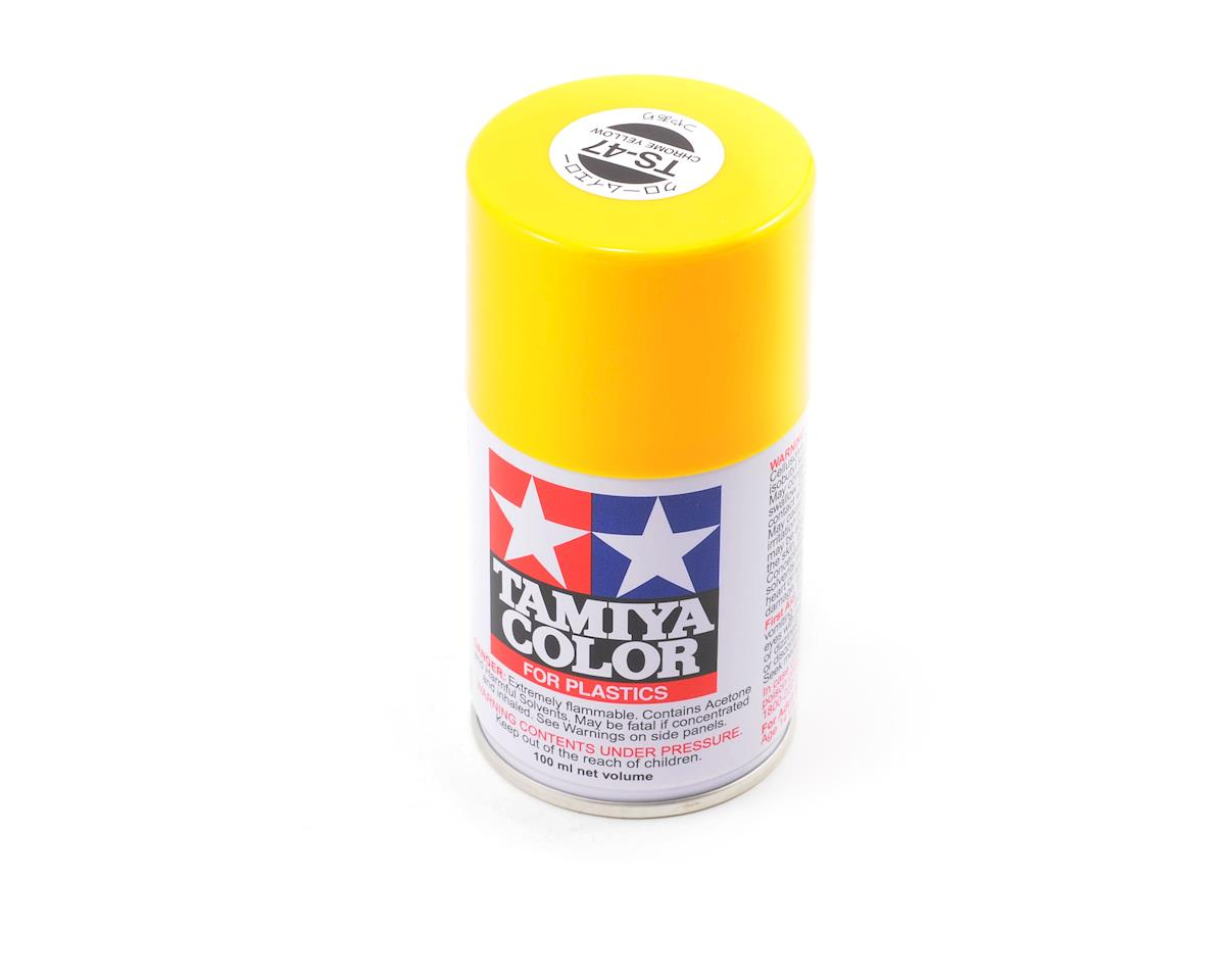 Tamiya TS-47 Chrome Yellow Lacquer Spray Paint (3oz)