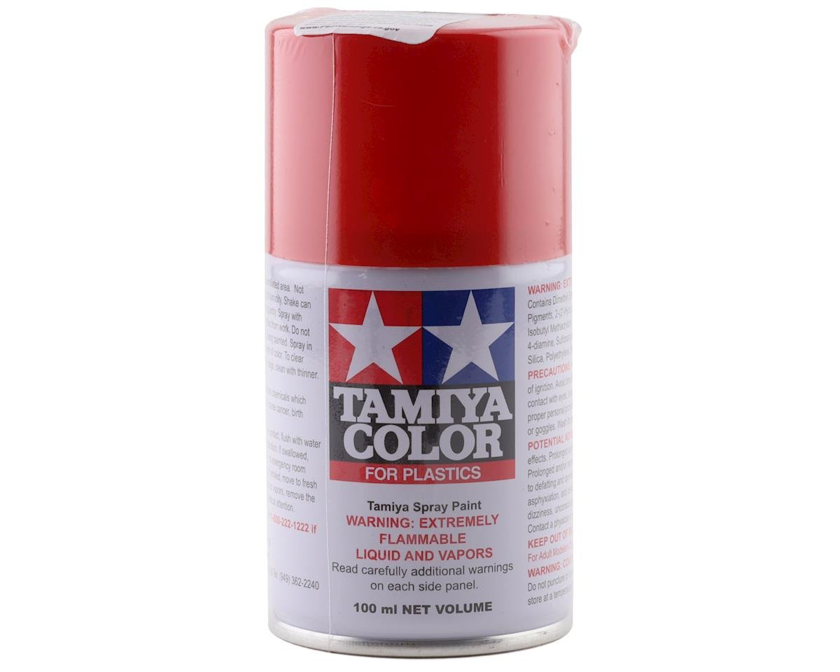 Tamiya TS-49 Bright Red Lacquer Spray Paint (3oz)