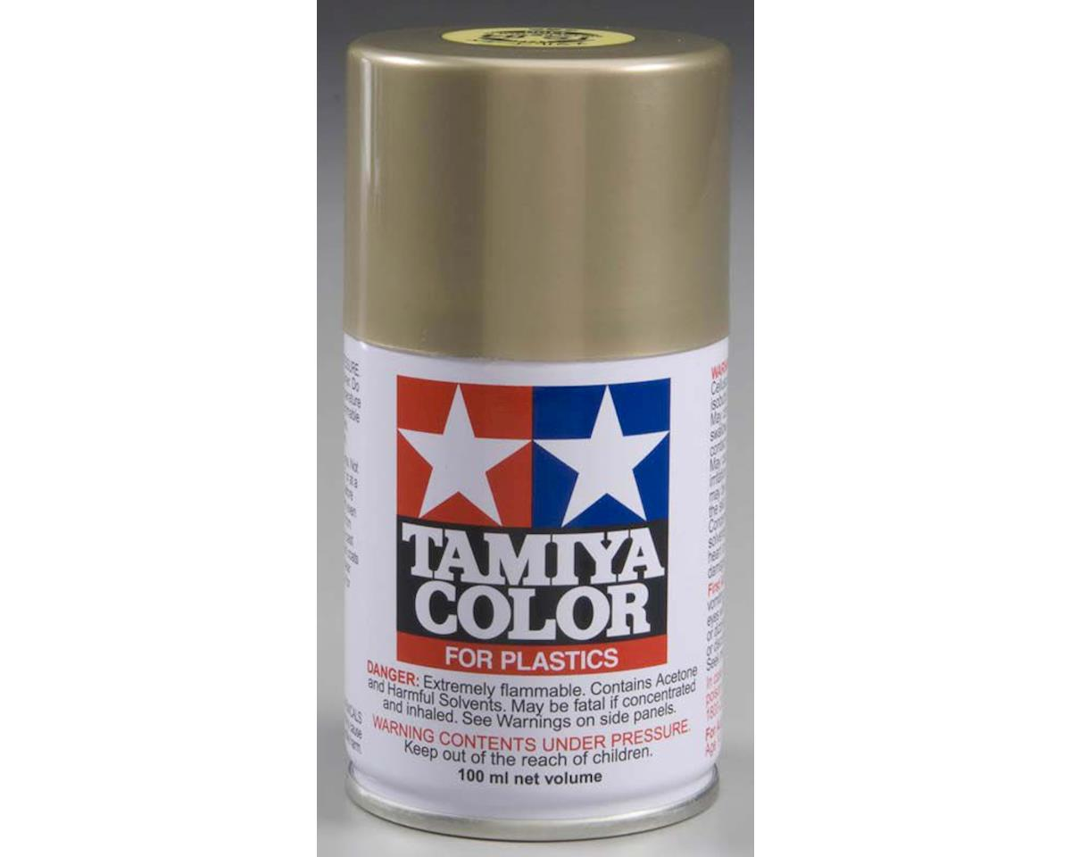 Spray Lacquer Ts84 Metallic Gold 3 Oz by Tamiya