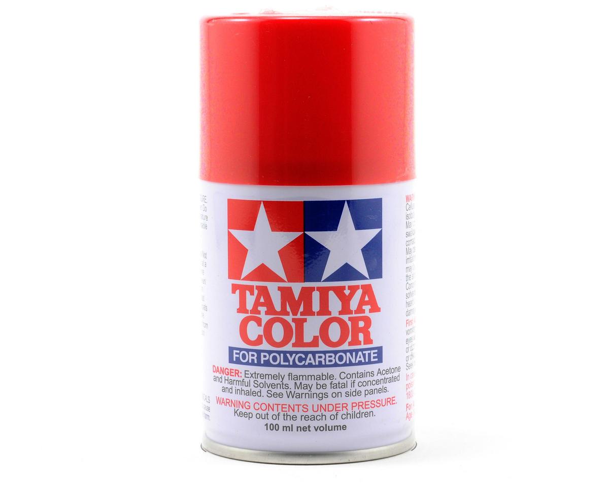 Tamiya PS-2 Red Lexan Spray Paint (100ml) TAM86002