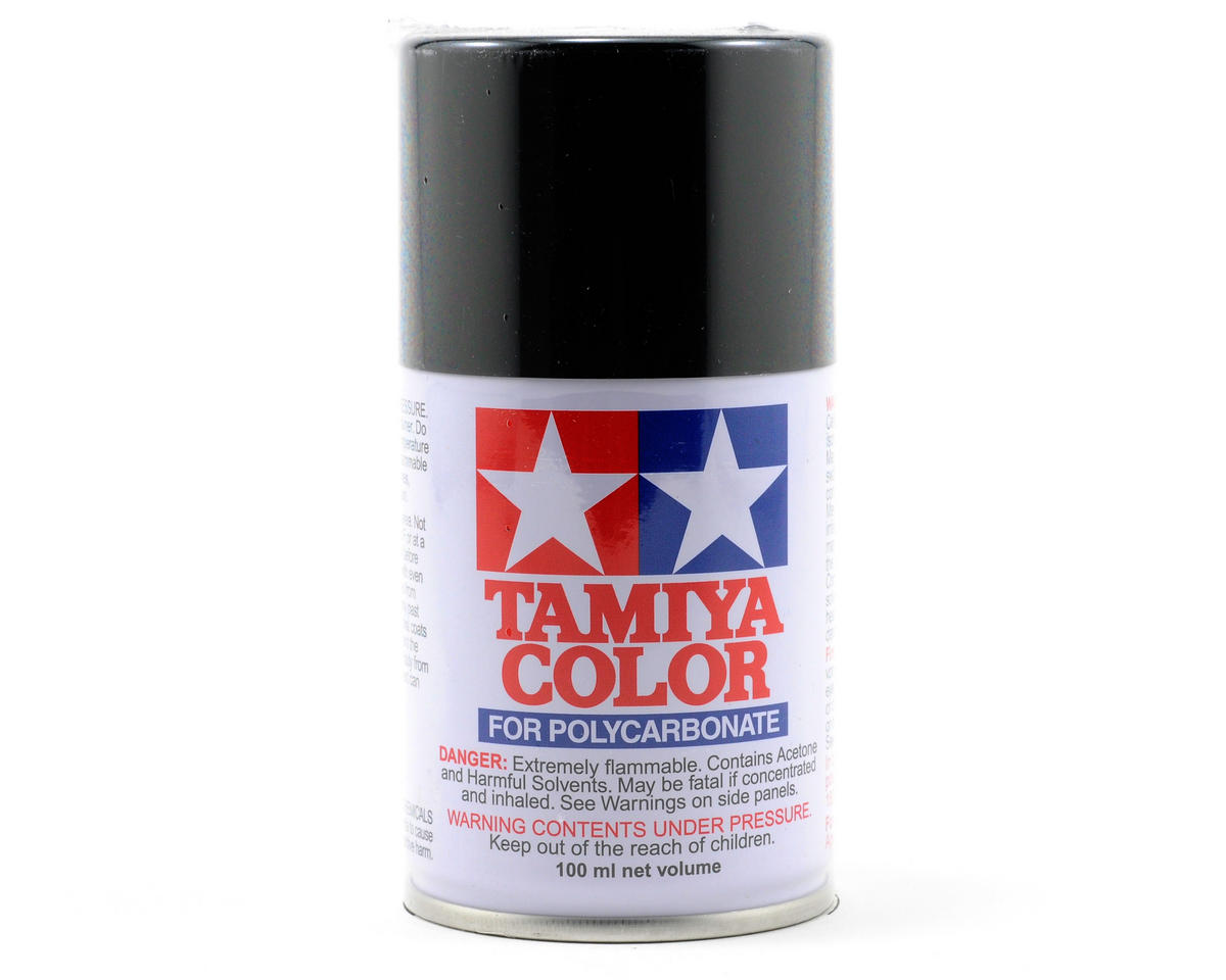 Tamiya PS-5 Black Lexan Spray Paint (100ml) TAM86005