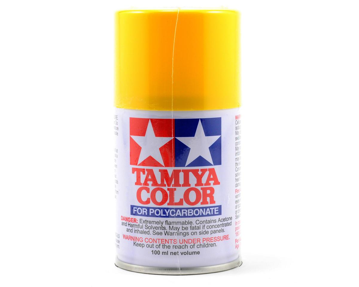 Tamiya PS-6 Yellow Lexan Spray Paint (100ml) TAM86006